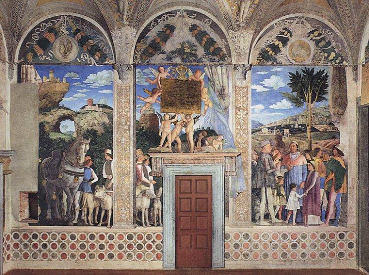 10 cose imperdibili a mantova mantova meraviglia for Camera sposi mantegna