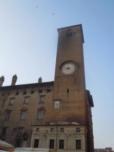 torre delle ore o del podestà - mantova