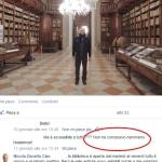Postare sui social network foto delle attrazioni di Mantova